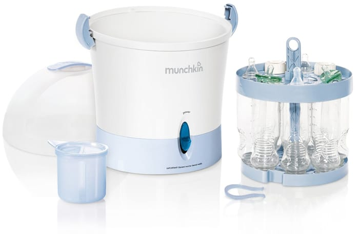 The Best Bottle Sterilizer Munchkin Steam Guard