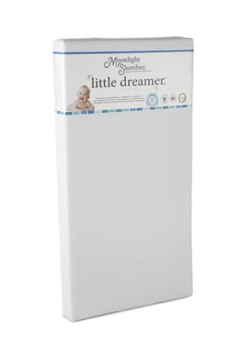 Best Crib Mattress - Moonlight Slumber All Foam Little Dreamer