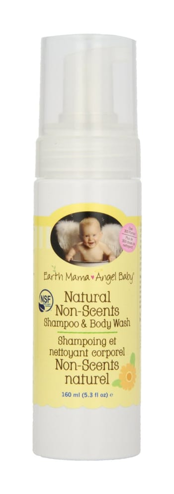 The Best Baby Wash and Shampoo - Earth Mama Angel Baby Non-Scents