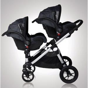 The Best Double Stroller | Baby Jogger City Select with a 2nd Seat
