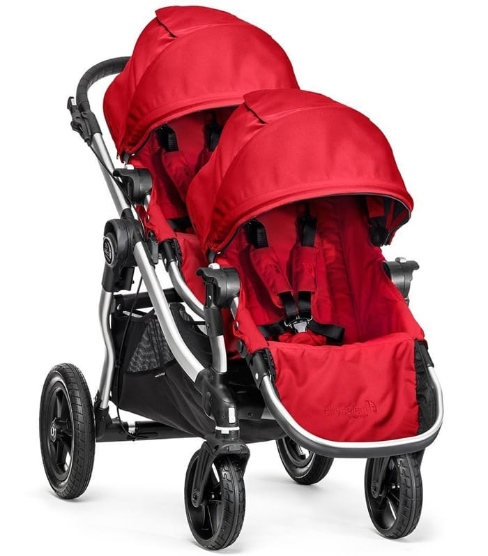 The Best Double Stroller - Baby Jogger City Select with a 2nd Seat