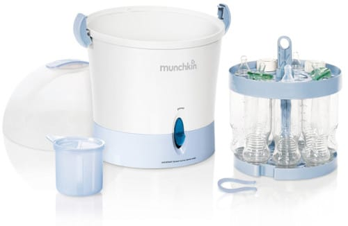 The Best Bottle Sterilizer - Munchkin Steam Guard