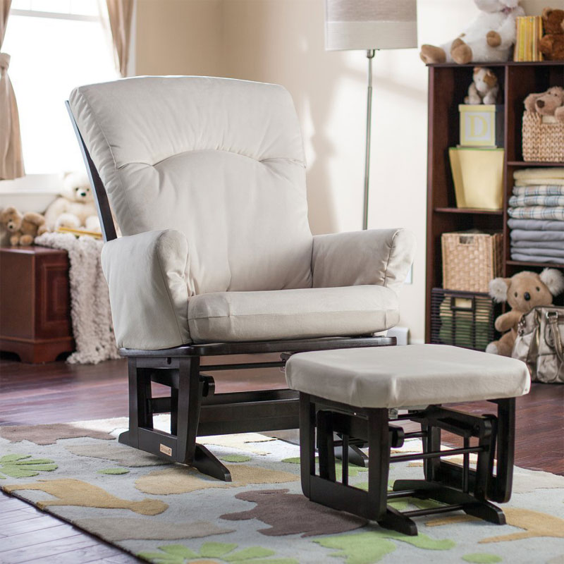 The Best Nursery Glider Chair Dutailier Modern Grande Glider And Ottoman Set