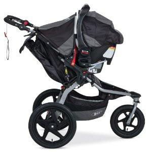 Bob Jogging Stroller as a Travel System with Infant Car Seat Adapter