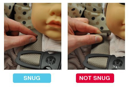 Infant Car Seat Guidelines - Car Seat Pinch Test The Mommy Doctor
