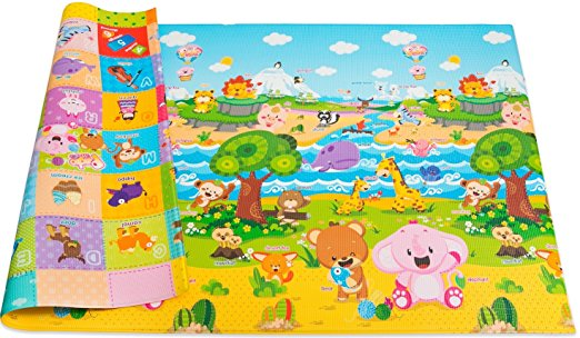 The Best Baby Play Mat - The Nightlight